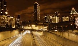 Seattle Roadscape Fotografia de Stock Royalty Free
