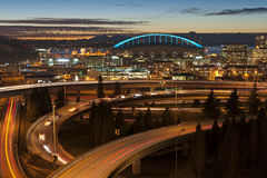 Seattle Rush Hour. Royalty Free Stock Image