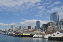 Seattle's Waterfront, Seattle, Washington Royalty Free Stock Image