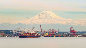 Seattle schronienie obraz royalty free