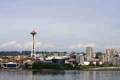 Seattle From Sea Stock Photography