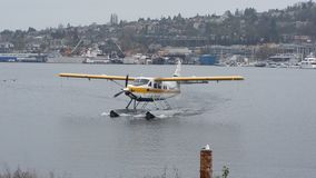 Seattle Sea Plane Stock Image