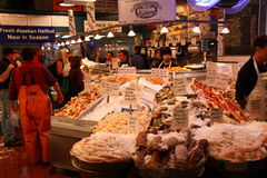 Seattle - Seaford for sale at Pike Place Market Royalty Free Stock Images