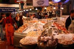 Seattle - Seaford voor verkoop bij de Markt van de Plaats van Snoeken Royalty-vrije Stock Afbeeldingen