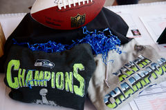 Seattle Seahawks Imagem de Stock Royalty Free
