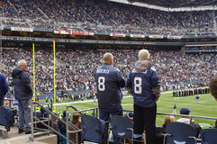 Seattle Seahawks game. National Football League-Seattle Seahawks Stock Photo
