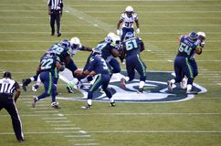 Seattle seahawks gegen New York Jets San Diego Chargers Stockfotografie