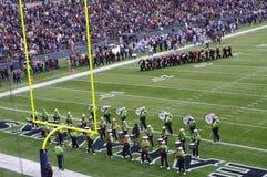 Seattle Seahawks gra obrazy stock