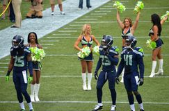 Seattle Seahawks Legion of Boom Stock Photography