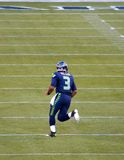 Seattle Seahawks Quarterback Russel Wilson. The Seattle Seahawks Quarterback Russel Wilson Stock Images
