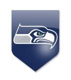 Seattle seahawks team. Seattle seahawks nfl team on white Royalty Free Stock Photo