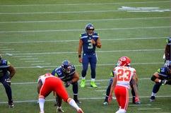 Seattle Seahawks VS kansas city chiefs Zdjęcie Stock