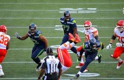 The Seattle Seahawks VS Kansas City Chiefs Royalty Free Stock Image