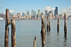 Seattle-Skyline Lizenzfreies Stockfoto
