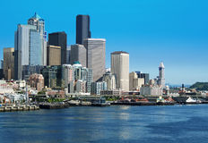 Seattle skyline. Royalty Free Stock Images
