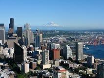Seattle-Skyline Lizenzfreies Stockbild