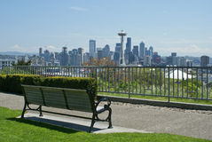 Seattle skyline Royalty Free Stock Photo