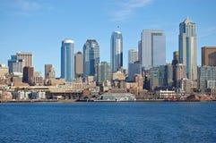Seattle Skyline Stock Image
