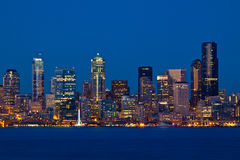 Seattle-Skyline Lizenzfreies Stockbild