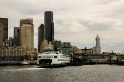 Seattle-Skyline stockbilder