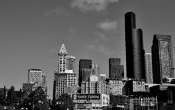 Seattle-Skyline Stockfoto