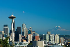 Seattle Skyline royalty free stock image