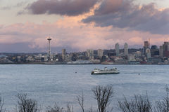 Free Seattle Skyline Stock Photography - 65839212