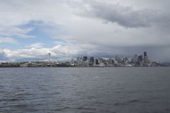 Seattle-Skyline Lizenzfreies Stockfoto