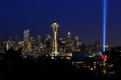 Seattle Skyline Royalty Free Stock Photos