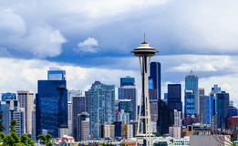 Free Seattle Skyline Royalty Free Stock Photo - 98499145