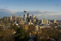 Seattle Skyline Royalty Free Stock Photos