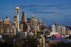 Seattle Skyline Royalty Free Stock Photo