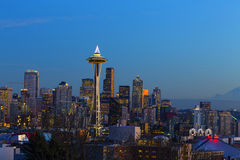 Seattle Skyline Royalty Free Stock Photography