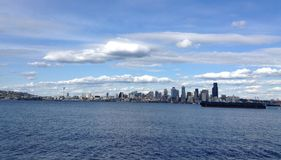 Seattle skyline Stock Photography