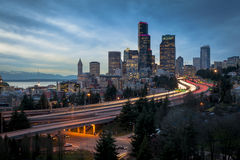 Seattle Skyline Stock Photos