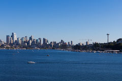 Seattle Skyline During the Day Stock Images