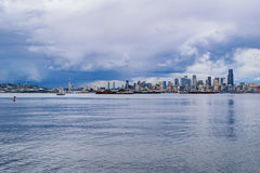 Seattle Skyline Stock Image