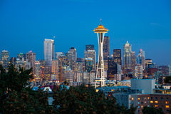 Seattle Skyline Royalty Free Stock Images