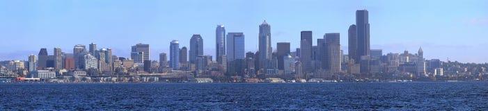 Seattle skyline panorama. Stock Photos
