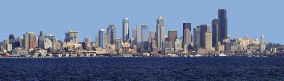 Seattle skyline panorama. Royalty Free Stock Image
