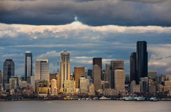 Seattle Skyline. Stock Photos