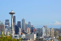 Seattle-Skyline vom Kerry-Park lizenzfreies stockfoto