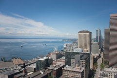 Seattle From Smith Tower Royalty Free Stock Images