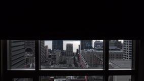 Seattle som är svart ut ner dag lager videofilmer