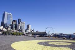 Seattle am Sommer Stockfotografie