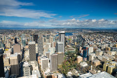 Seattle Space Needle and skyline Royalty Free Stock Photos