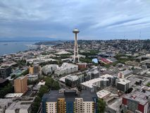 Seattle Space Needle stock photo