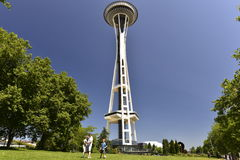 Seattle, Space Needle Tower Stock Image