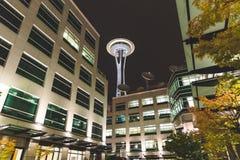 Seattle Space Needle in Washington, USA Stock Photos