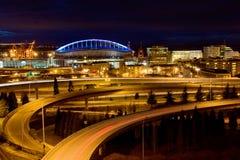 Seattle sports arena Stock Photos